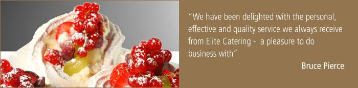 Elite cuisine cork clients for Citco headquarters